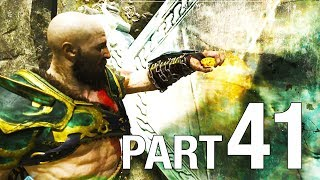 GOD OF WAR 4 Walkthrough Part 41- Light Elf Outpost / Buri's Storeroom / Stone Falls - No Commentary