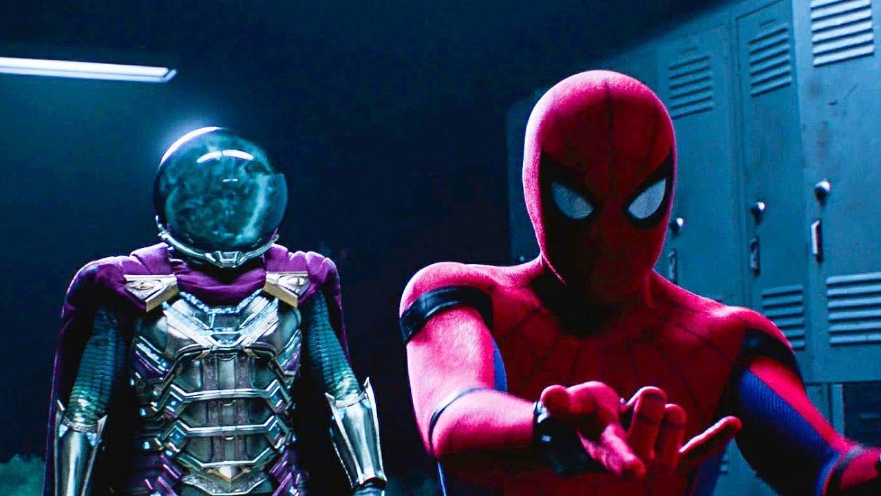 Download Spider-Man vs Mysterio - Mysterio's Illusion Scene | Spider-Man: Far From Home
