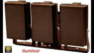 IFSEC2011 Video iluminar CCTV security LED lights