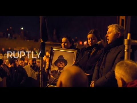 UK: Crowds pay respects to late Sinn Fein politician Martin McGuinness in Belfast