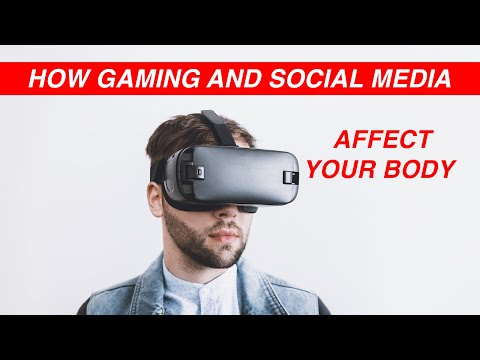 How Gaming and Digital Media Impact the Human Body