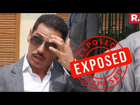 EXPOSED: Robert Vadra Didn't Disclose Income Of Rs. 42,61,55,500 In 2010-11