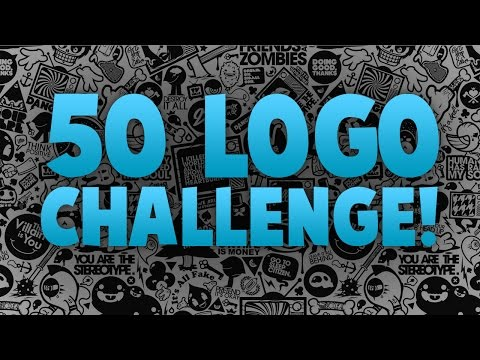 50 LOGO CHALLENGE!! – Graphic Design