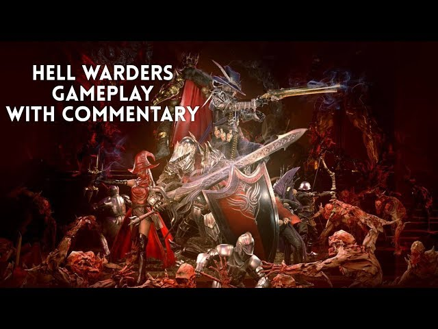 Hell Warders Stream Gameplay on Xbox One