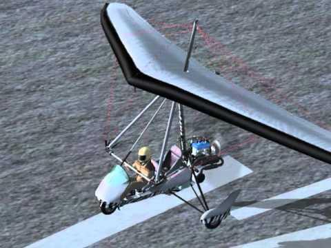 flight simulator x aircreation trike ultralight youtube