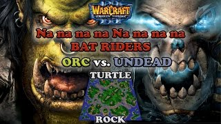 Grubby | Warcraft 3 The Frozen Throne | Orc v UD - Na na na na  Bat Riders! Turtle Rock
