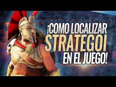 Assassin's Creed Odyssey   Donde localizar y encontrar a los STRATEGOI ESPARTANOS (Estrategos) thumbnail