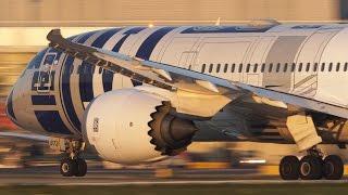 BOEING 787-9 Departure -  STAR WARS JET - Good bye Boeing 787-8