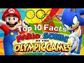 Top 10 - Curious Facts About Mario & Sonic at the Olympic Games