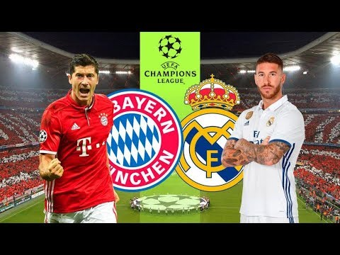 Bayern Munich Vs Real Madrid - Live Stream + Countdown UCL 25/04/18