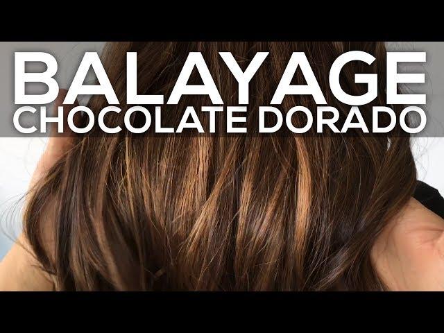 BALAYAGE BABYLIGHTS CHOCOLATE DORADO - DANIELA MURIEL
