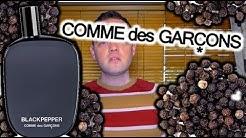 "Comme Des Garcons ""Black Pepper"" Fragrance Review"