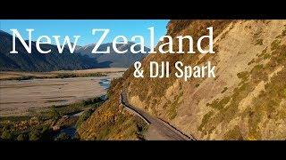 New Zealand filmed with DJI Spark