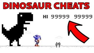 Chrome Dinosaur Game Cheats - God Mode, Speed, Custom Characters & More!