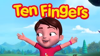 Ten Fingers | Finger Family Rhymes