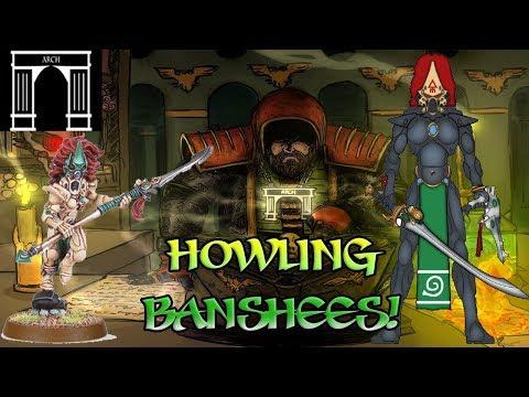 40k Lore, Eldar Aspect Warriors, The Howling Banshee