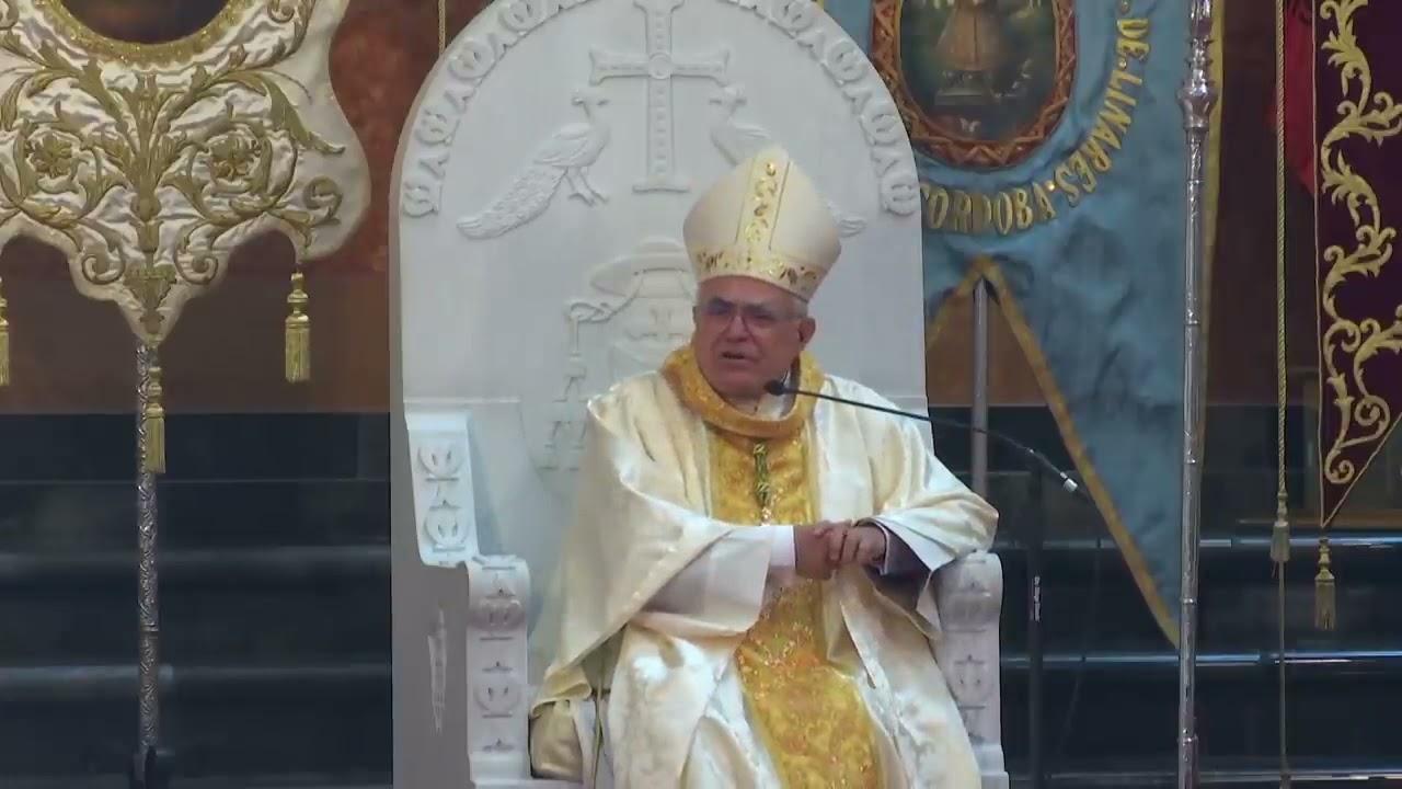 """Obispo de Córdoba: """"Todavía no hay procesiones. ¿Somos contagiosos los creyentes?"""""""