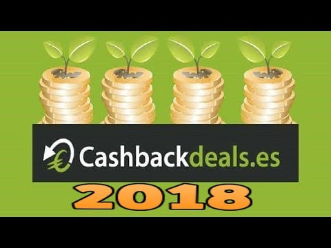 Cashback Deals Tutorial Completo 2018 |  Gana 7'50€ Solo Por Registrarte