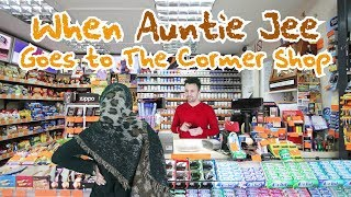 When Auntie Jee Goes to The Corner Shop   OZZY RAJA