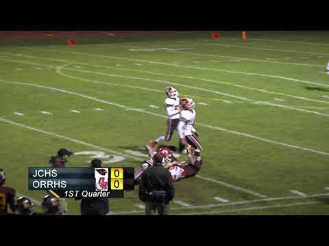 JCHS Football vs Old Rochester Regional High School