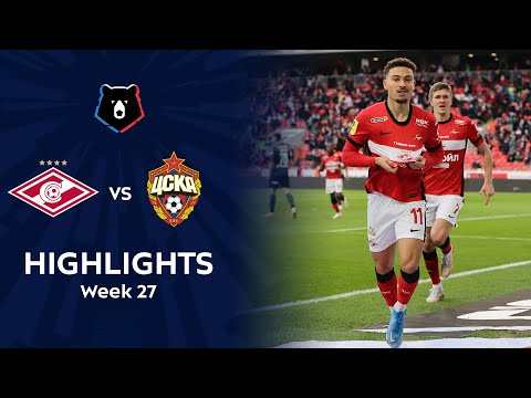 Spartak Moscow CSKA Moscow Goals And Highlights