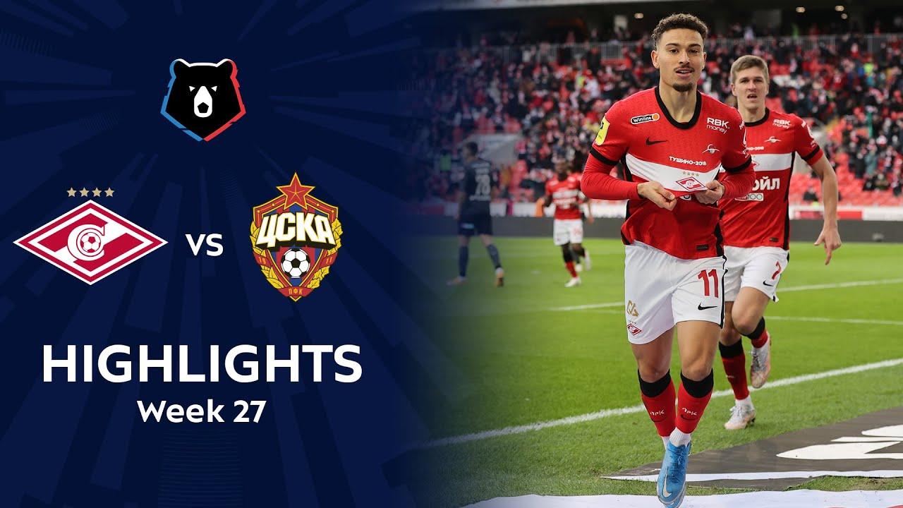 Download Highlights Spartak vs CSKA (1-0) | RPL 2020/21