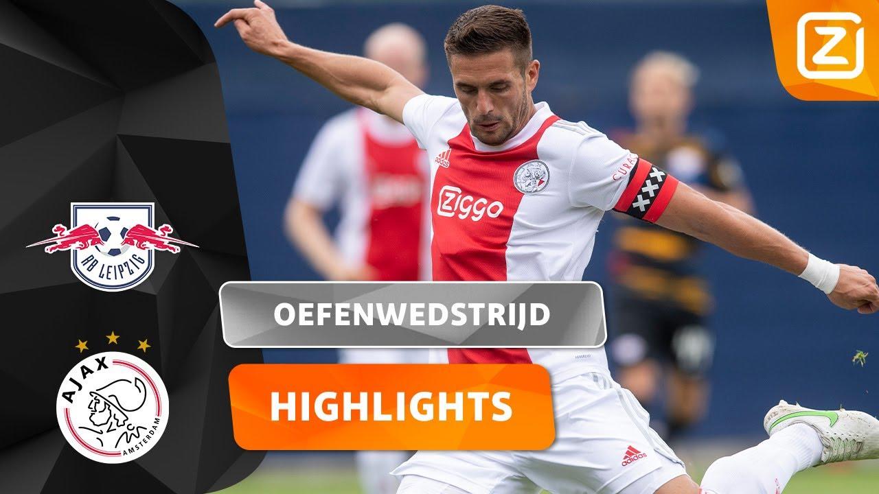 AJAX KOMT AL SNEL OP VOORPSRONG! 🤩 | Leipzig vs Ajax | Oefenwedstrijd 2021/22 | Samenvatting