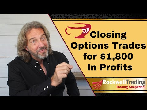 Interactive Brokers Options Trading - Closing Options Trades