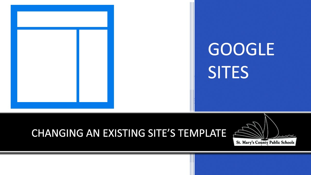 Google sites changing an existing site s template youtube for How to change template on google sites
