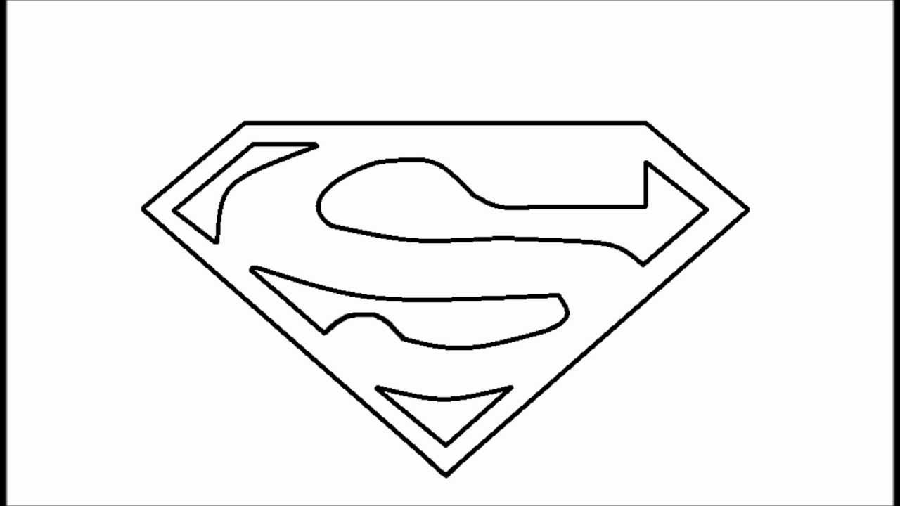 Basic Step By Step Superman Logo Youtube