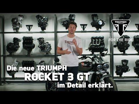Die neue Triumph Rocket 3 GT - im Detail erklärt