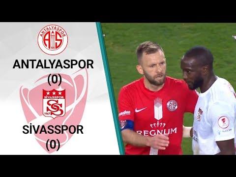 Antalyaspor 0 - 0 Sivasspor MAÇ ÖZETİ (Ziraat Türkiye Kupası Çeyrek Final İlk Ma