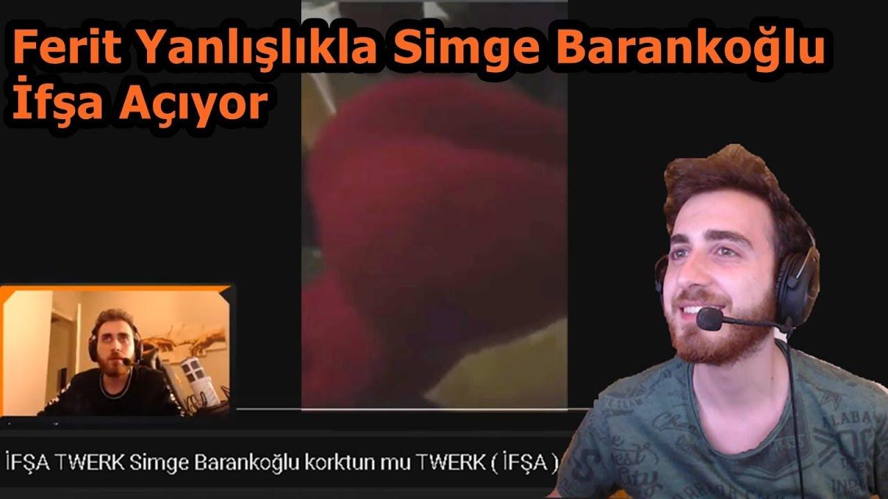 Ferit Yanlışlıkla Simge Barankoğlu İfşasını Açıyor !