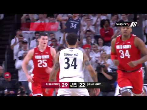 Men's Basketball Highlights: Cincinnati 56, Ohio State 64 (Courtesy ESPN)
