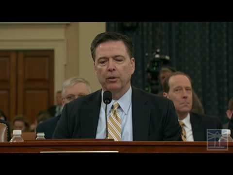 Comey comments on Trump
