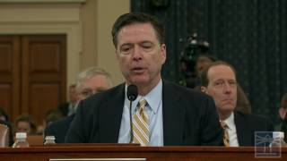 Comey comments on Trump's McCarthyism charge | FBI Director Comey testifies on Russia, wiretapping
