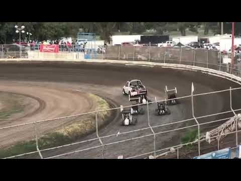 Plaza Park Raceway 8/9/19 Jr Sprint Heat 1- Cash