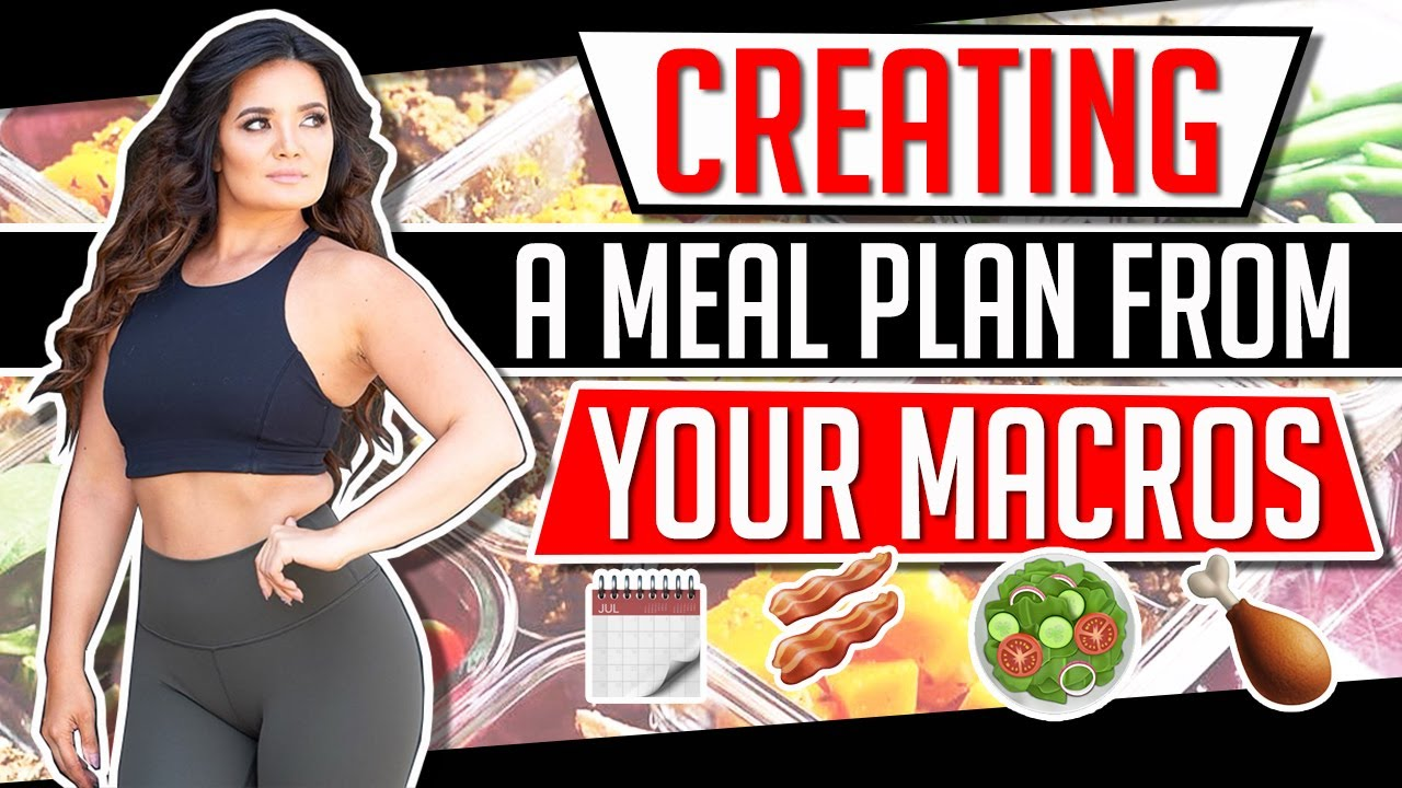 How To Create a Meal Plan Using Your Macros | Gauge Girl Training