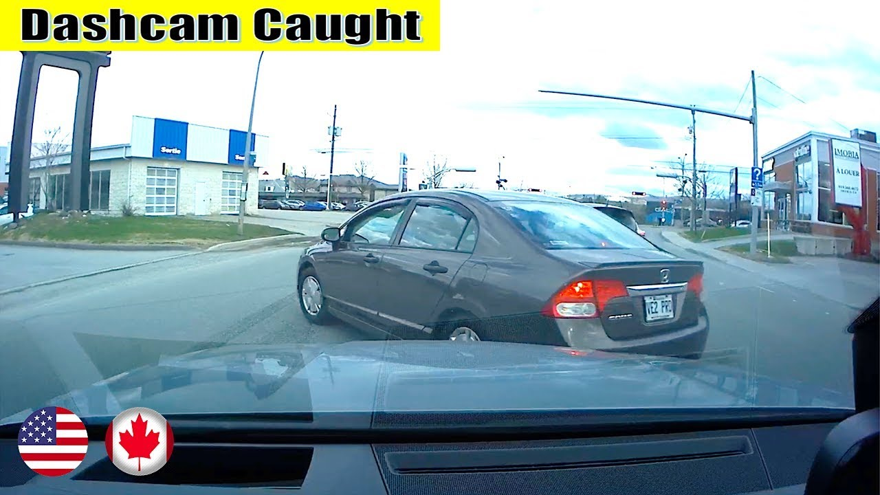 Ultimate North American Cars Driving Fails Compilation - 224 [Dash Cam Caught Video]
