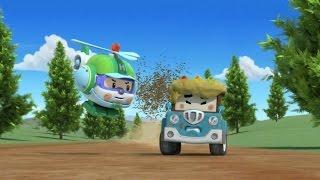 Робокар Поли - Приключение друзей - Спуки и пчелиный рой (мультфильм 35 в Full HD)