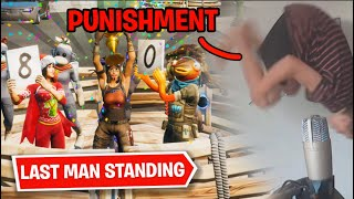 Fortnite | LAST MAN STANDING Wins 10,000 V-BUCKS! | but it gets INTENSE...