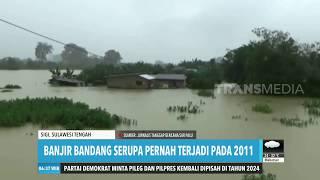 Puluhan Rumah Terendam Banjir Satu Meter  Redaksi Pagi 131219