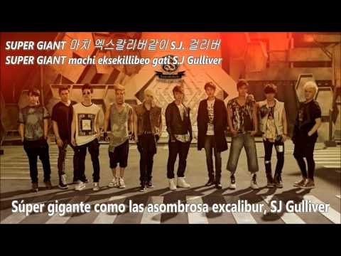 Gulliver - Super Junior SUB ESPAÑOL+HAN+ROM