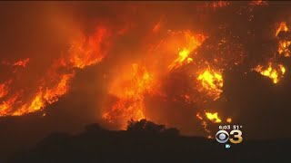 Southern California Fire Forces Thousands To Flee Homes