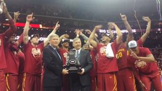Iowa State Men's Basketball 2017 Big 12 Championship Celebration