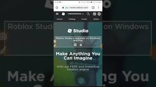 Comment utiliser roblox studio sur android 🐱🐓