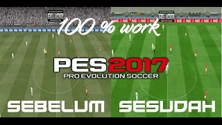 Cara lancar main PES 2017 no lag (low spec PC) 100% Work