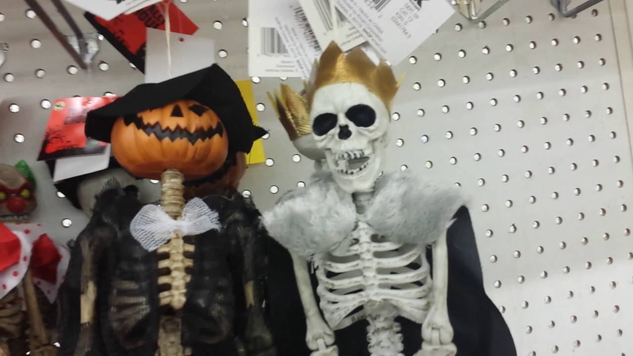 kmart in store halloween decor reveal no costumes yet youtube - Kmart Halloween Decorations