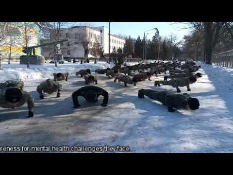 "Zaporizhia Military Sport Lyceum ""Defender"" (Ukraine), 22 Pushups Challenge"