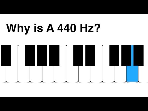 7 Why is A 440 Hz?